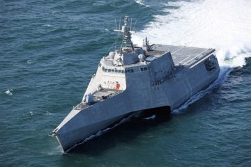 Littoral Combat Ship USS Tulsa (LCS 16) Commissioned Into the U.S. Navy
