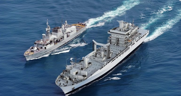 Lockheed Martin Canada's CMS 330 Selected for RCN Joint Support Ships