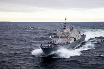 Lockheed Martin & Fincantieri deliver Future USS Billings LCS 15 to the U.S. Navy