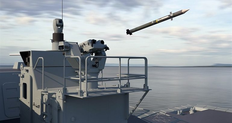 MBDA unveils the SPIMM Self-Protection Integrated Mistral Module