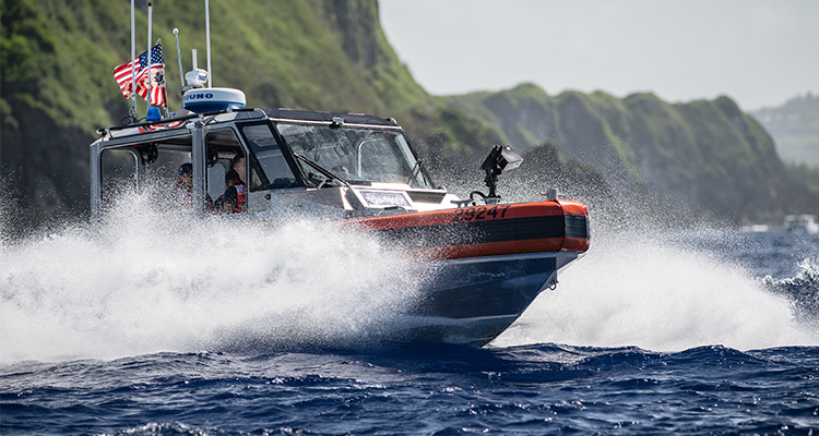 The US Coast Guard placed a delivery order on Feb. 4 for 20 response boats-small II (RB-S IIs), worth approximately $8.5 million, with Metal Shark Boats of Jeanerette, Louisiana, the service said on Feb. 15, 2019.