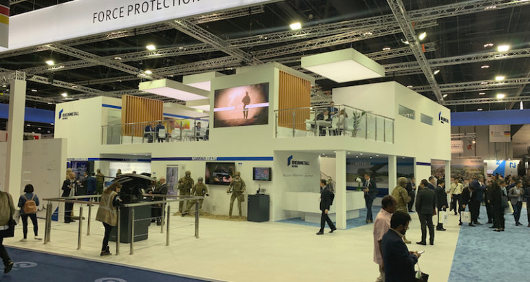 At IDEX 2019, the German defense company Rheinmetall is presenting for the first time its Total Ship Training concept for simulation-based training of entire ships' crews ashore.
