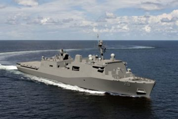 Keel Laid for San Antonio-class amphibious transport dock Richard M. McCool Jr. (LPD 29)