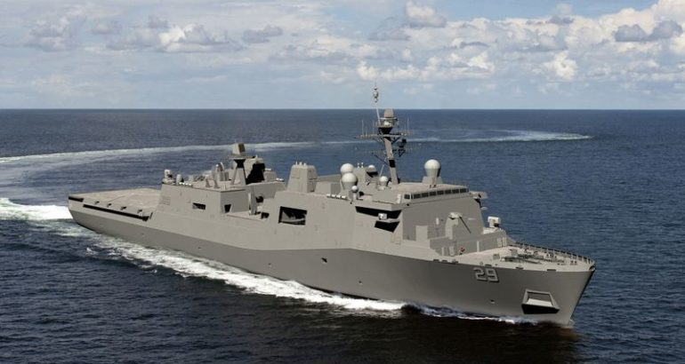 The US Navy's next generation LPD 17 Flight II Class amphibious transport dock ships are moving forward in Main Propulsion Diesel Engine (MPDE) efficiency by installing the common rail fuel injection system on the ship's Pielstick-Colt 2.5V Sequentially Turbocharged (STC) engine.