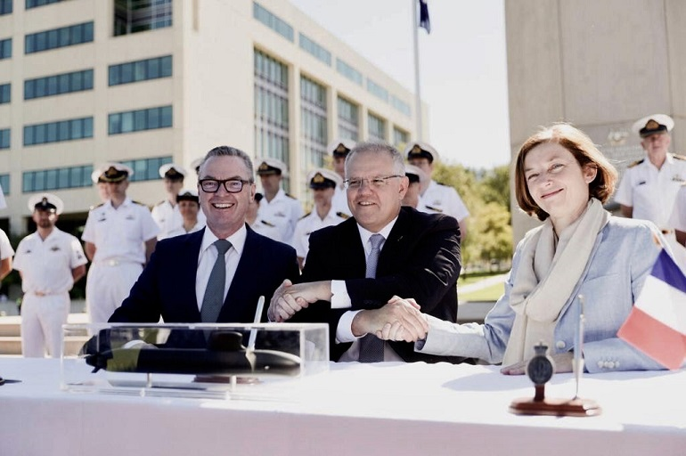 Naval Group Inks Major 'Attack-class' Submarine Contract with Australia 2