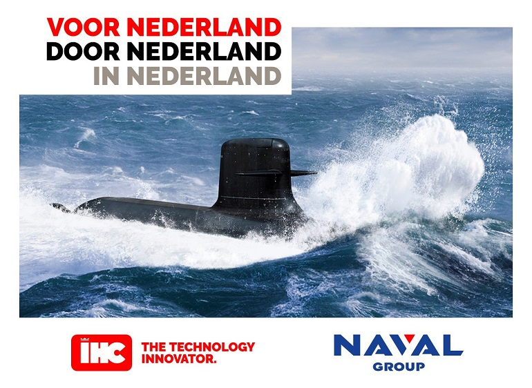 Naval Group & Royal IHC Sign strategic partnership for the Netherlands Submarine Replacement programme