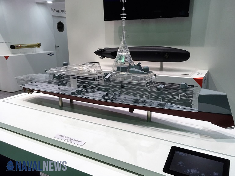Naval Group at IDEX 2019 and NAVDEX 2019 belharra