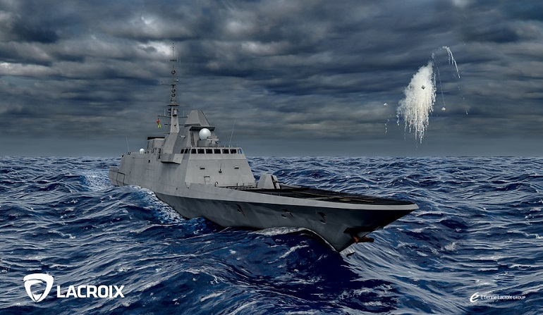 Naval Update with Lacroix Defense at IDEX 2019 3