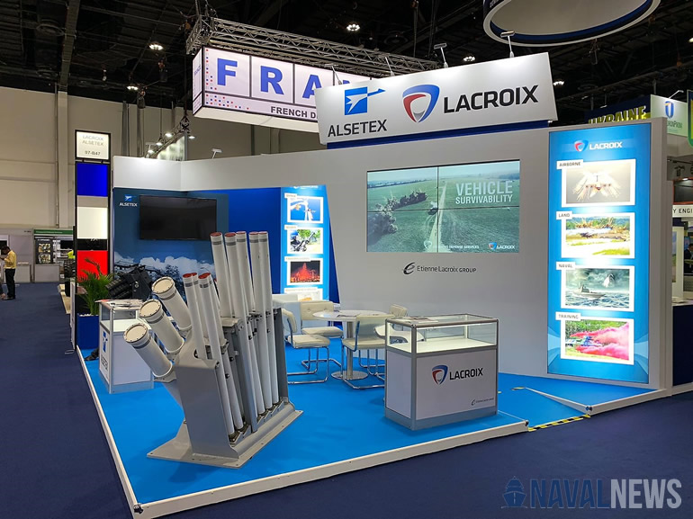 Naval Update with Lacroix Defense at IDEX 2019 4
