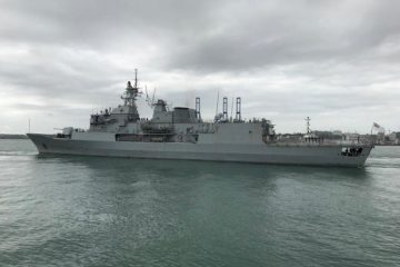 New Zealand's Second ANZAC-class Frigate Underway for Mid-Life Upgrade in Canada