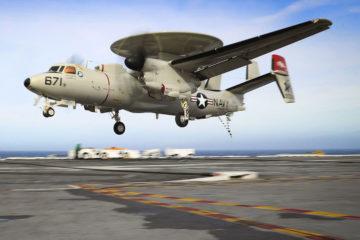 Northrop Grumman progressing towards E-2D navigation system upgrade