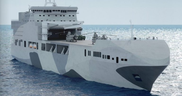 The British company Prevail Partners is the first to officially submit its proposal for the Royal Navy's two future Littoral Strike Ships announced earlier this month by the UK Defense Secretary Gavin Williamson.