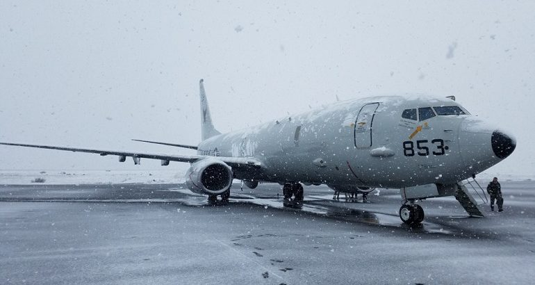 RAF Poseidon MRA Mk.1 Maritime Patrol Aircraft to First Deploy in the Arctic
