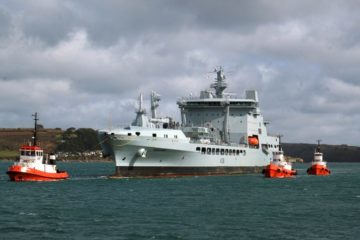 Royal Navy inducts new RFA Tidesurge tanker