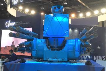 Russia's Pantsir-ME air defense system at IDEX 2019