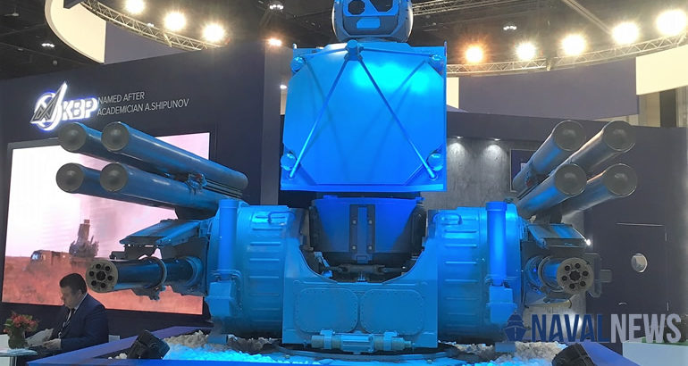 Russia's Pantsir-ME air defense system at IDEX 2019