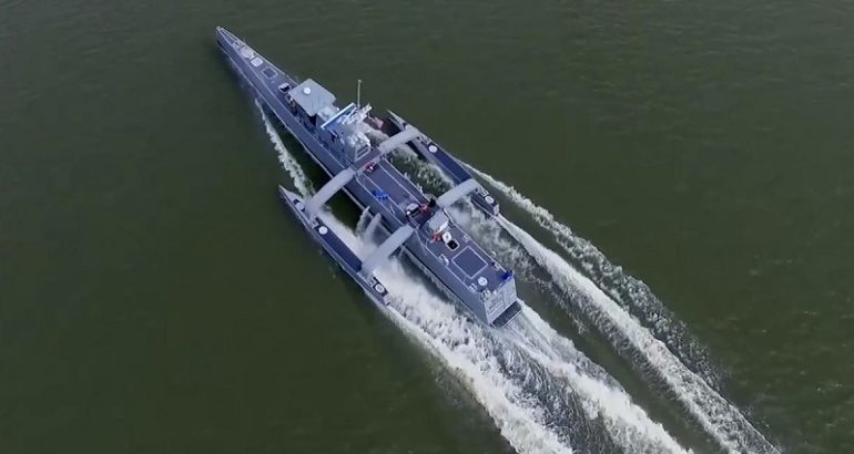 Sea Hunter USV Reaches New Autonomy Milestone