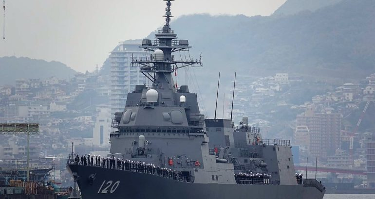 Second Asahi-class Destroyer JS 'Shiranui' Commissioned into JMSDF 1