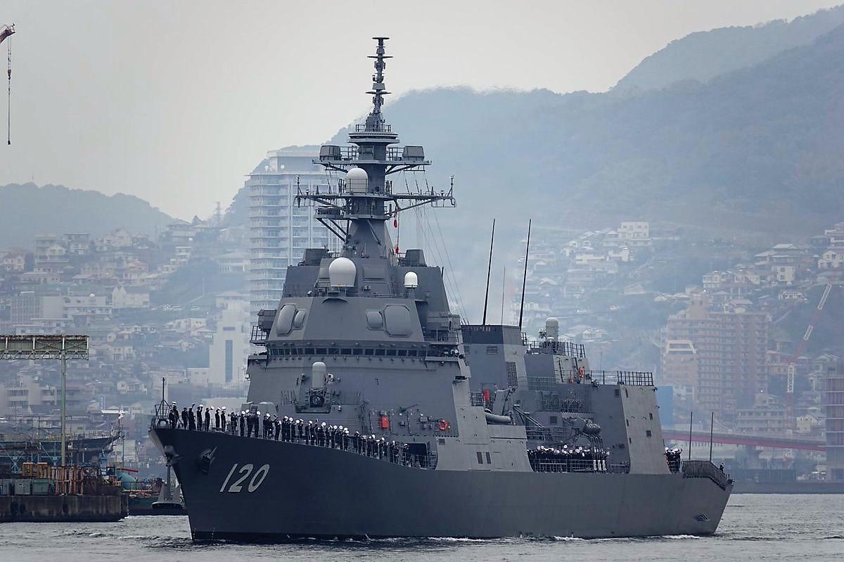 Second Asahi-class Destroyer J...