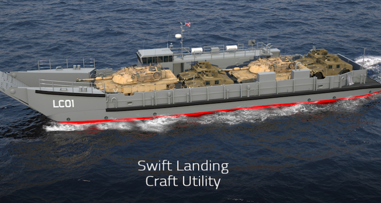 Swiftships packs US$26 million order for further LCU 1700 production
