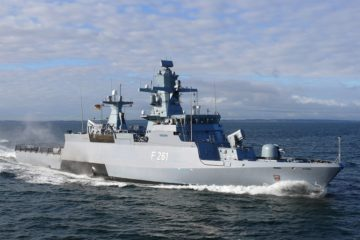 TRS-4D Radar & Mirador MK2 EO Systems for German K130 Batch 2 Corvettes