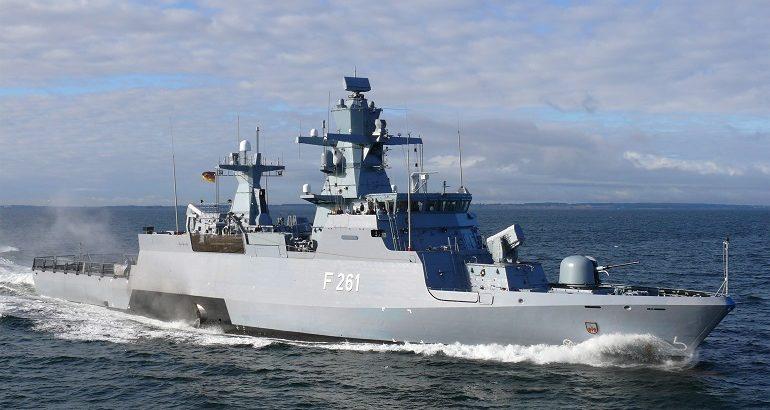 TRS-4D Radar & Mirador MK2 EO Systems for German K130 Batch 2 Corvettes