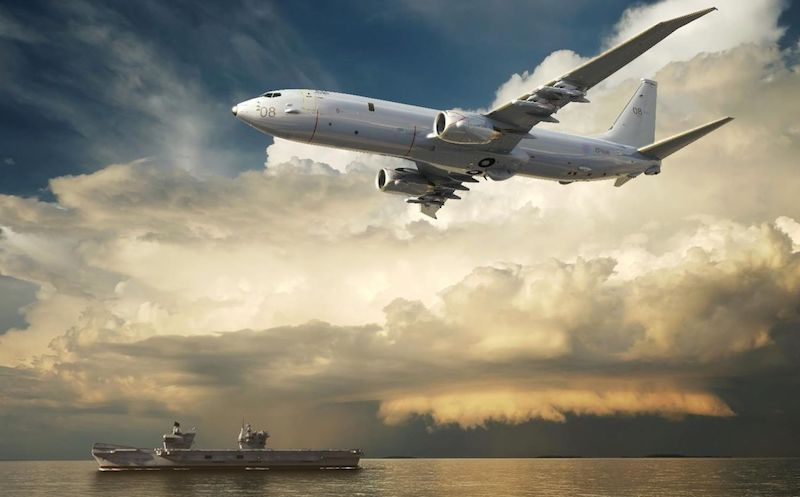 The future home of the UK's P-8A Poseidon Maritime Patrol Aircraft is on target for completion, the Royal Air Force stated on Feb. 22, 2019. Once established the facility will hold up to three aircraft, along with maintenance facilities, planning rooms, and office space for the operators and support staff.