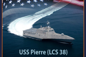 US Navy's LCS 36 and 38 named USS Kingsville and USS Pierre