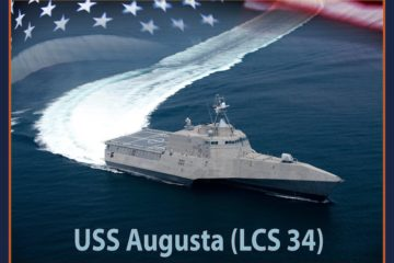 US Navy's LCS 34 named USS Augusta