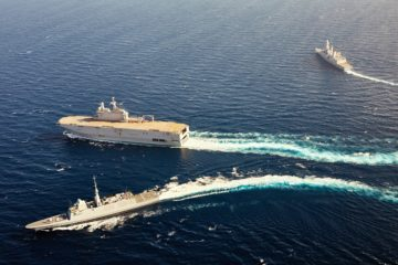 Airbus, Naval Group, Rohde & Schwarz Team Wins French Navy's RIFAN Step 2 IP Broadband Networking Capability Contract