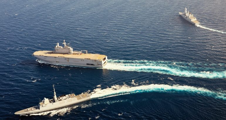 Airbus, Naval Group, Rohde Schwarz Team Wins French Navy RIFAN Step 2 IP Broadband Networking Capability Contract