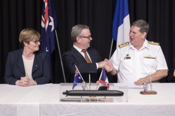 Australia's Attack-class Submarine Design Contract Signed