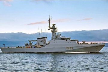 BAE Systems hands over HMS Medway OPV
