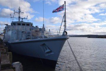 Babcock completes refit of HMS Penzance minehunter vessel