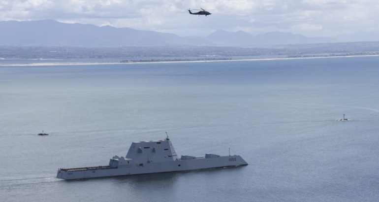 Guided-missile destroyer USS Zumwalt (DDG 1000) departed San Diego for its first operational underway, the US Navy announced on March 8, 2019.