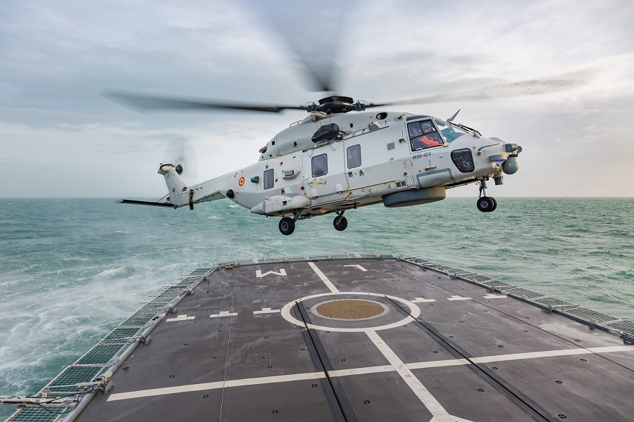 Belgian and French Navies Considering ASW Helicopter Collaboration 2