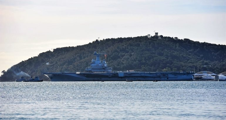 French Carrier Strike Group Underway for Mission Clemenceau