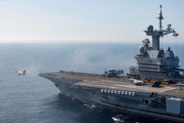 French Carrier Strike Group starts supporting Operation Inherent Resolve