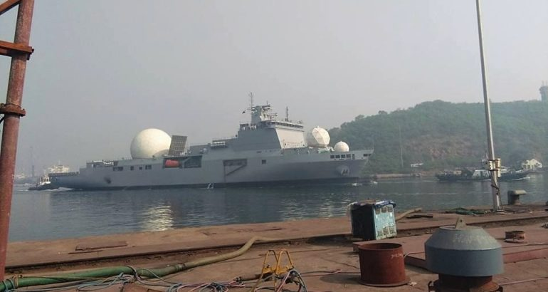 Indian Navy Future Tracking Ship VC-11184 Nearly Completed