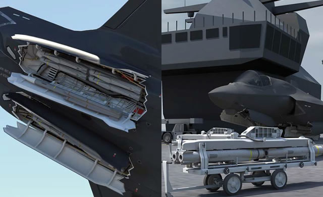 Integration Work Begins for METEOR & SPEAR Missiles Aboard UK's F-35Bs 2