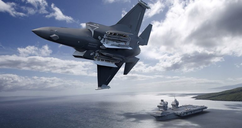 Integration Work Begins for METEOR & SPEAR Missiles Aboard UK's F-35Bs