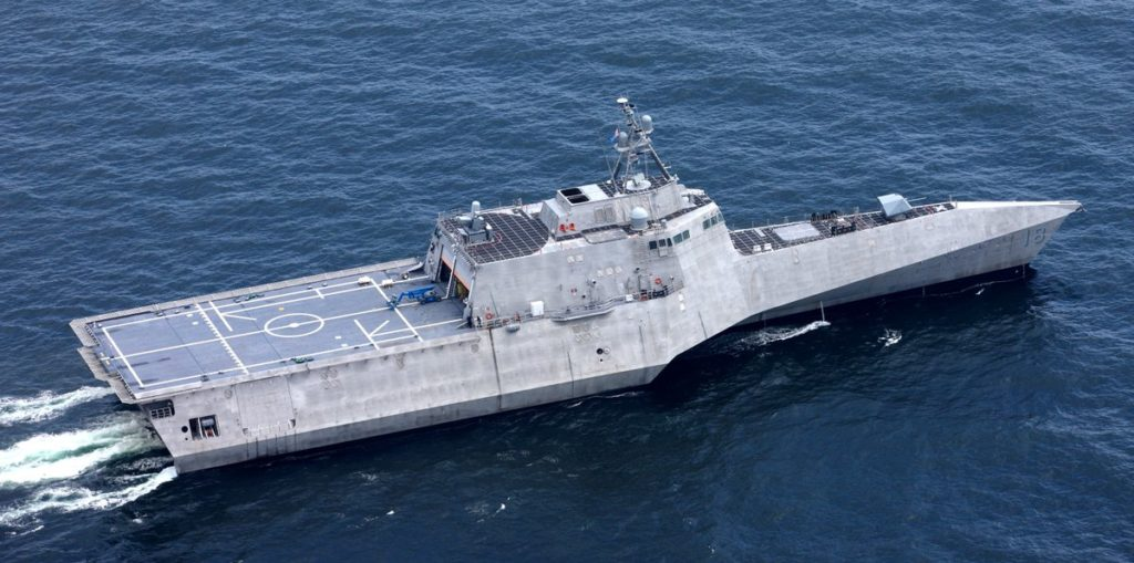 Littoral Combat Ship USS Charleston (LCS 18) Commissioned Into the U.S. Navy 2