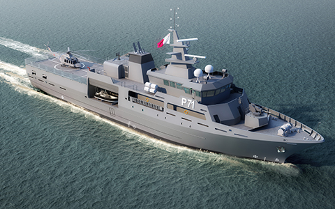 Rolls-Royce to supply propulsion package for new Patrol Vessel for Malta 2
