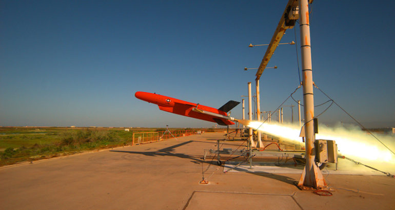 The U.S. Navy's next-generation Sub-Sonic Aerial Target (SSAT), BQM-177A, reached Initial Operational Capability (IOC) Feb. 27 and will begin land-based operations in Point Mugu, California.
