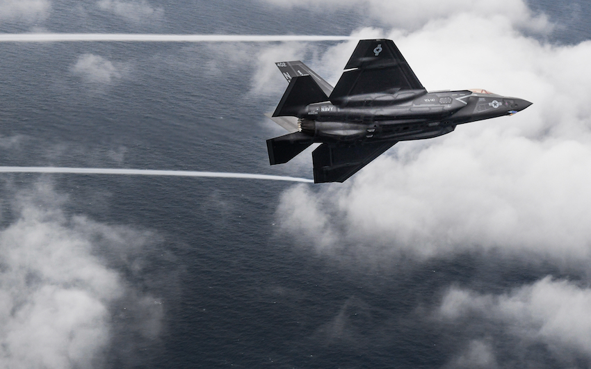 The US Navy today announced that the aircraft carrier variant of the Joint Strike Fighter, the F-35C Lightning II, met all requirements and achieved Initial Operational Capability (IOC).