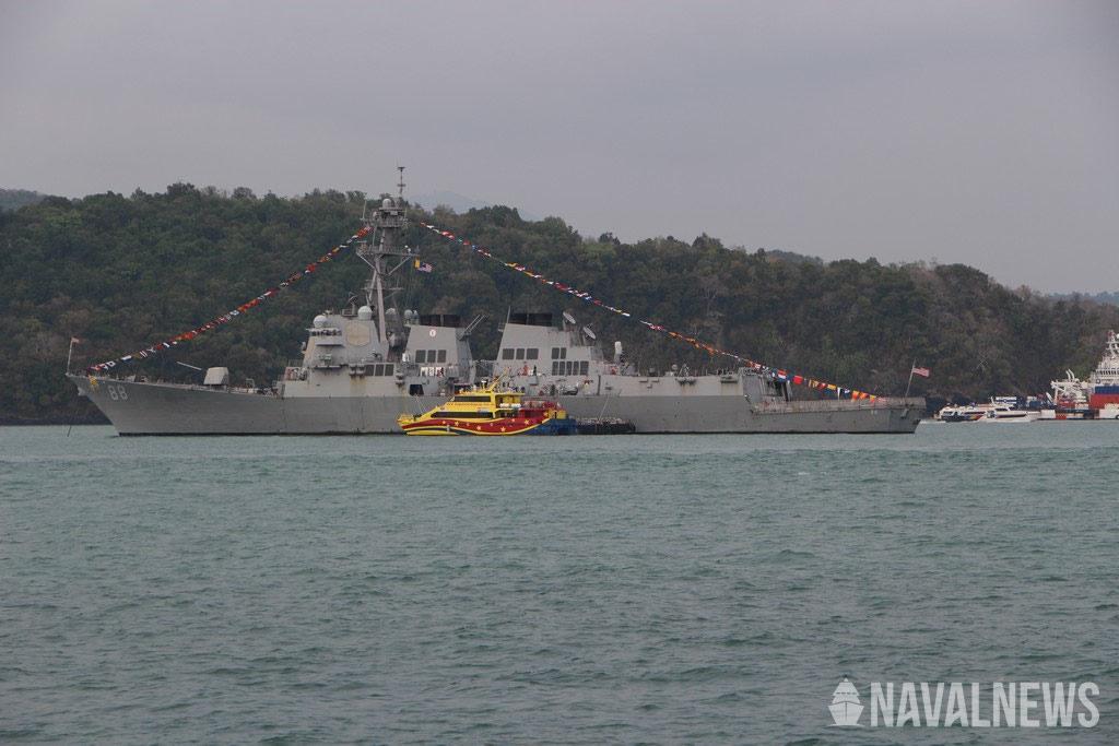 U.S. Navy USS Preble