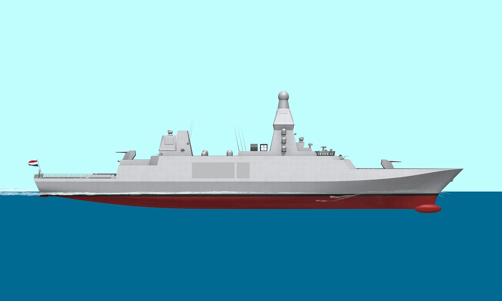 Video Thales AWWS for the Future Dutch and Belgian Frigates
