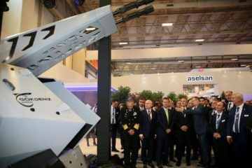 ASELSAN Rolls Out its new CIWS GOKDENIZ at IDEF 2019