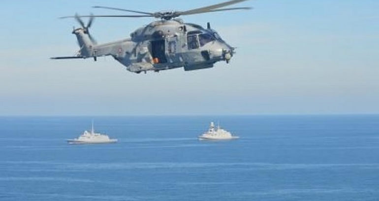 ASW Cooperation for French and Italian Navy FREMM Frigates