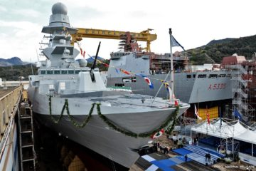 Fincantieri Delivers FREMM Frigate 'ANTONIO MARCEGLIA' to the Italian Navy